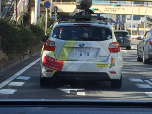 Google street 撮影車